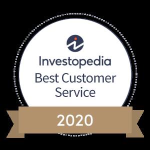 Investopidea Best Customer Service 2020 Badge